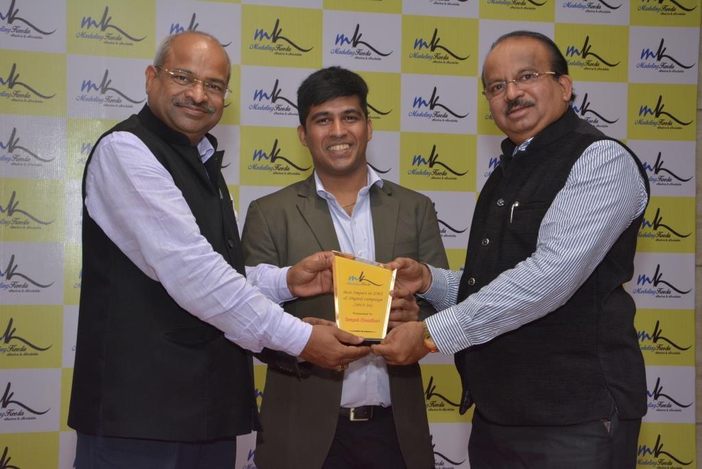 Marketing-Keeda-Award-Indus-Deepak-Chaudhari