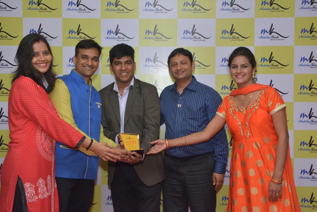Marketing-Keeda-Award-Sachin-Biyani-Lions-Club-Treasurer
